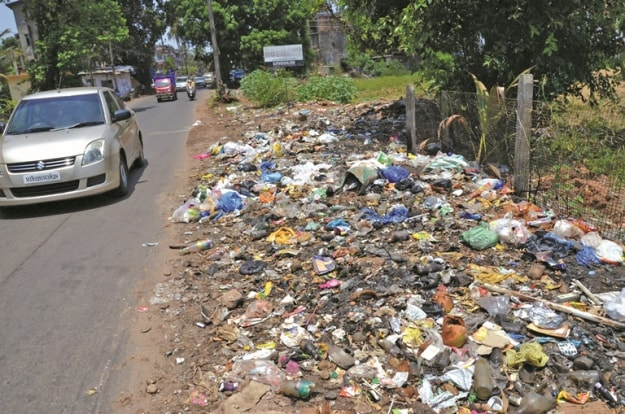 causes of garbage pollution