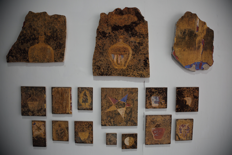 Subodh Kerkar, 150 Natal, pieces of wall, 2016 (2)
